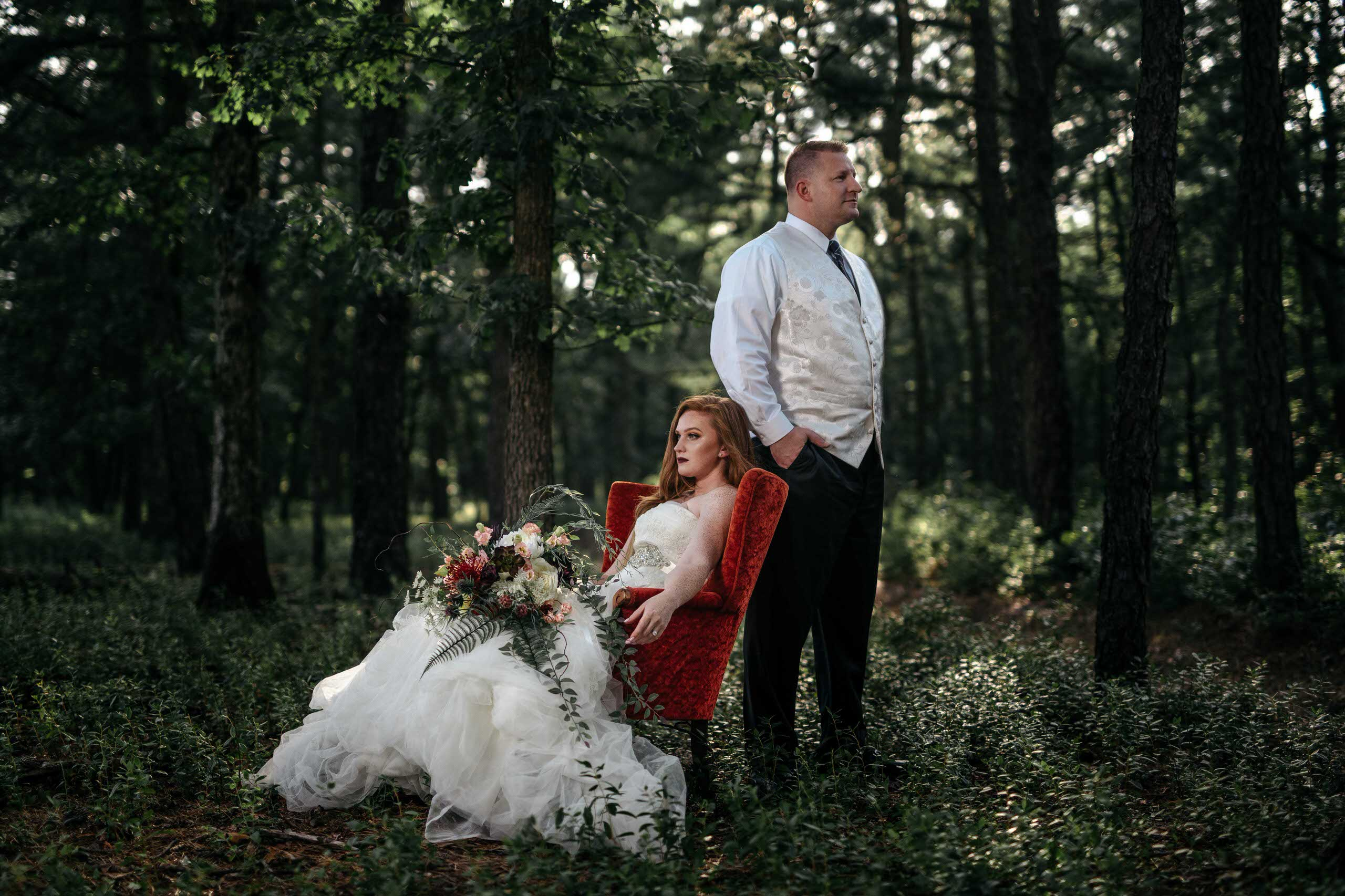 Styled Shoot with Ashley and Kurt
