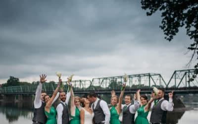 Caitlyn and Mike's Rainy Wedding // Lambertville Station Inn, NJ