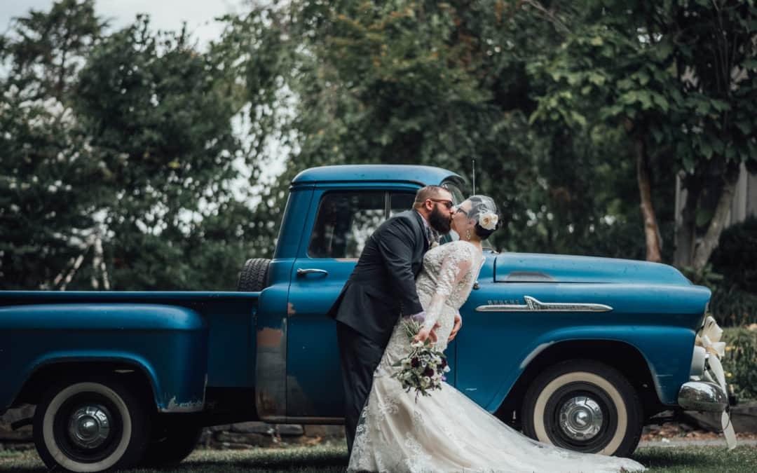 Chris and Tricia's Vintage DIY Wedding // Magnolia Hill, Allentown, NJ