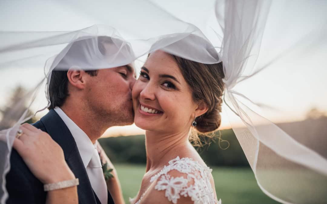 Amanda and Remy's Elegant Backyard Wedding // Hopewell, NJ
