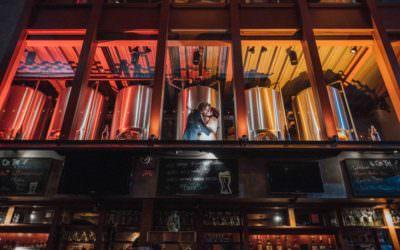 Aryn and Evan's Brewery Wedding // Triumph Brewing Company, Princeton, NJ