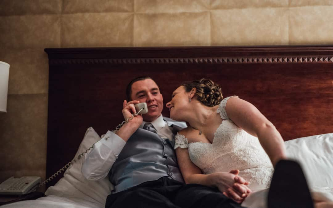Katie and Jason's New Years Eve Wedding // West Windsor Ballroom