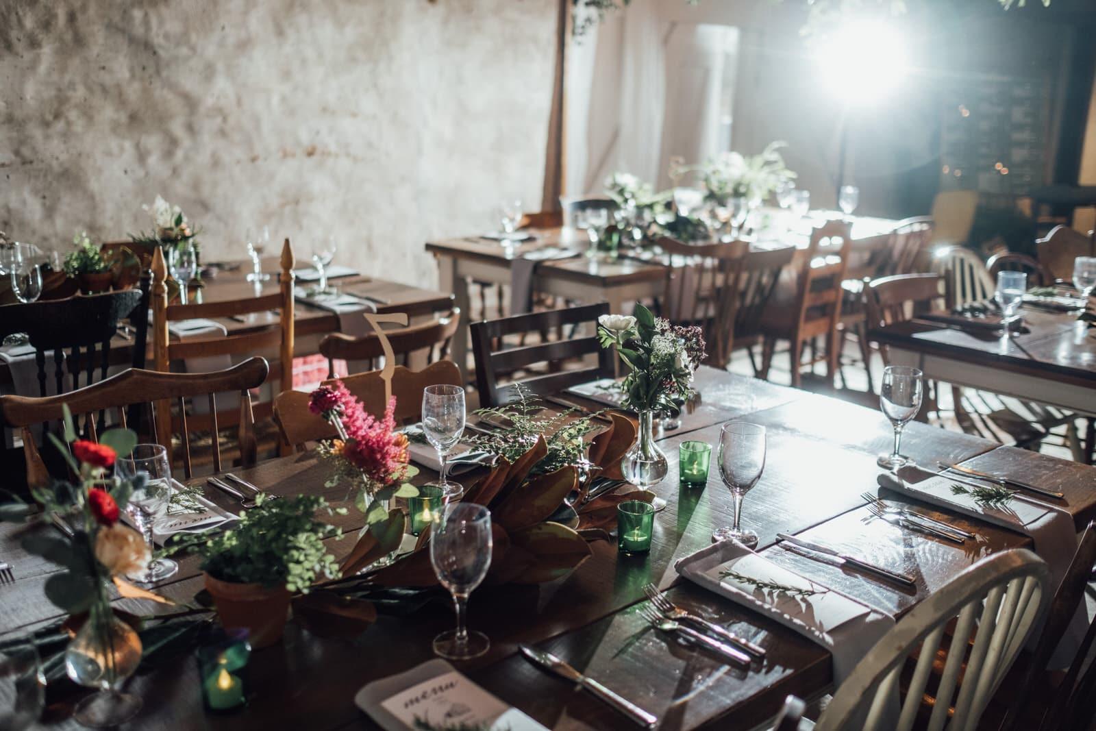 Rustic Barn Wedding Venue - Durham Hill Farm