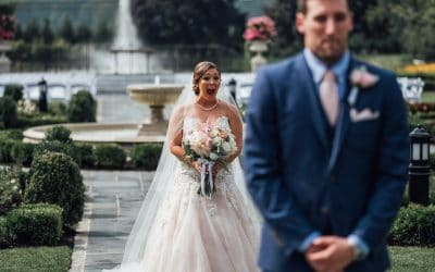 "Why Every Wedding Couple Needs To Have a ""First Look"""
