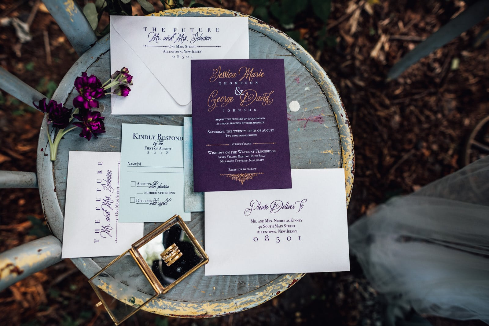 New Jersey wedding designer