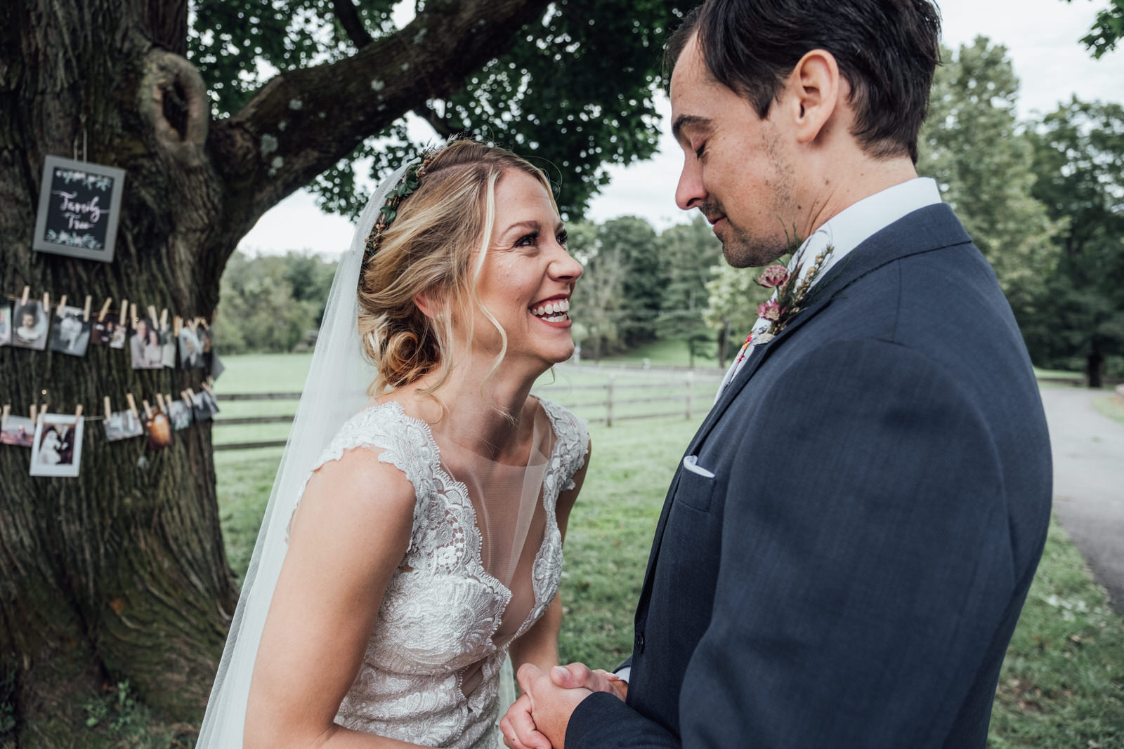first look durham hill farm barn wedding venue