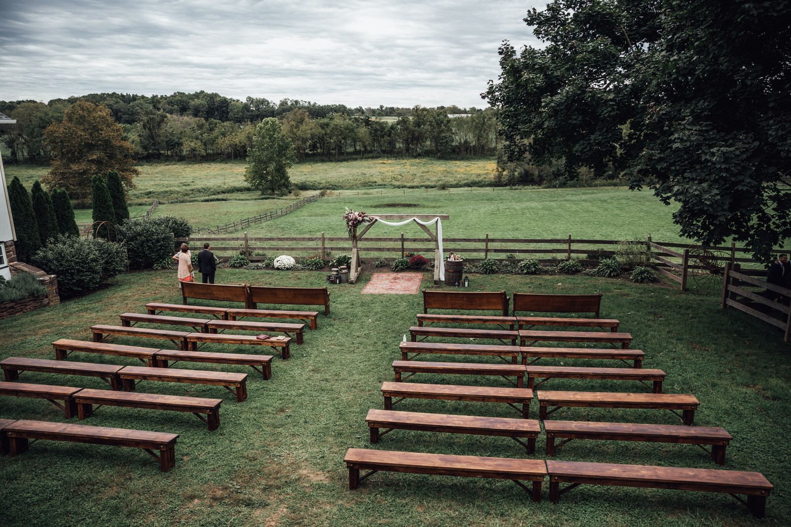 ceremony space durham hill farm