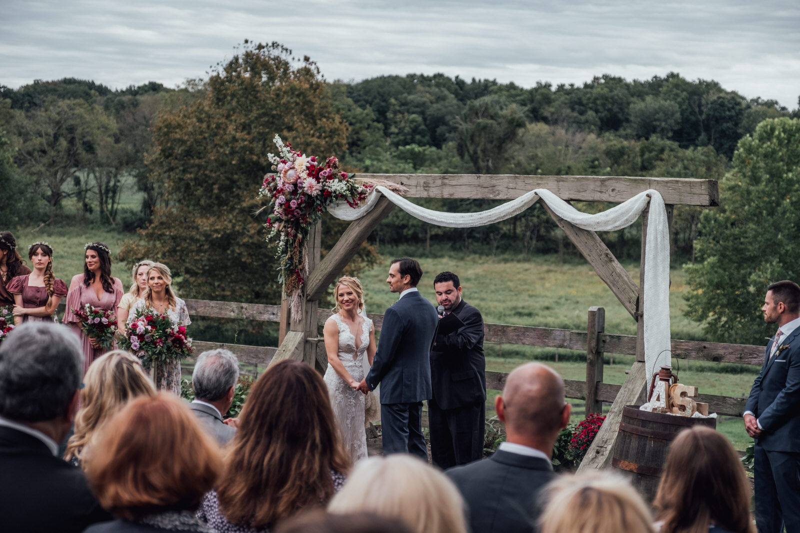 ceremony durham hill farm weddings