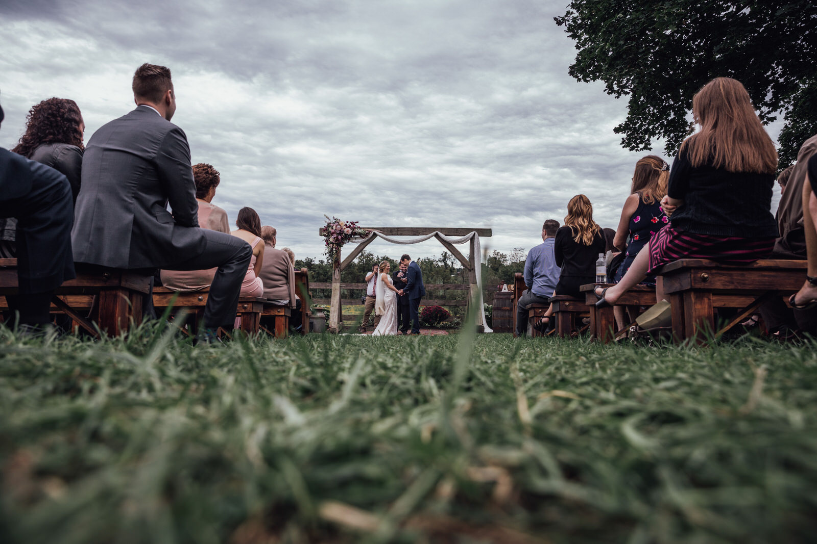 ceremony space durham hill farm barn wedding venue