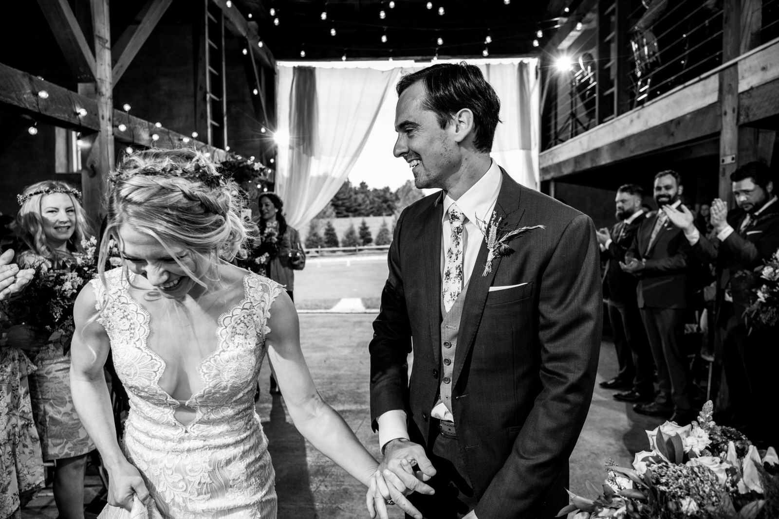 first dance durham hill farm barn wedding venue