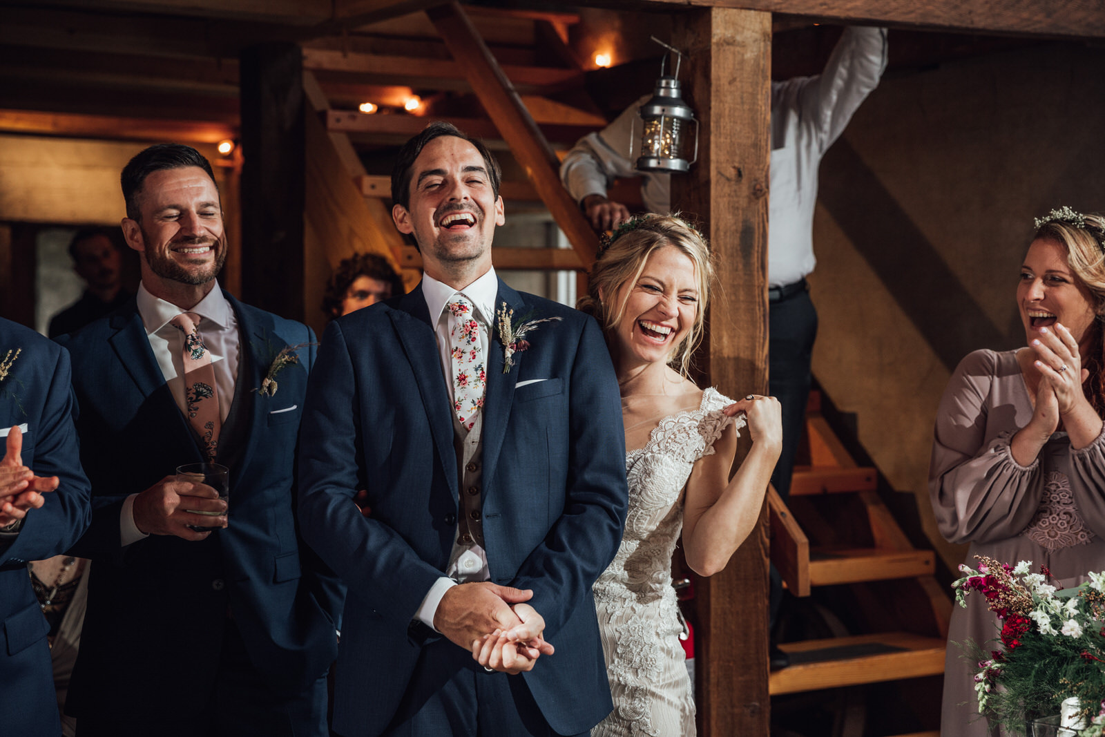toasts durham hill farm barn wedding venue