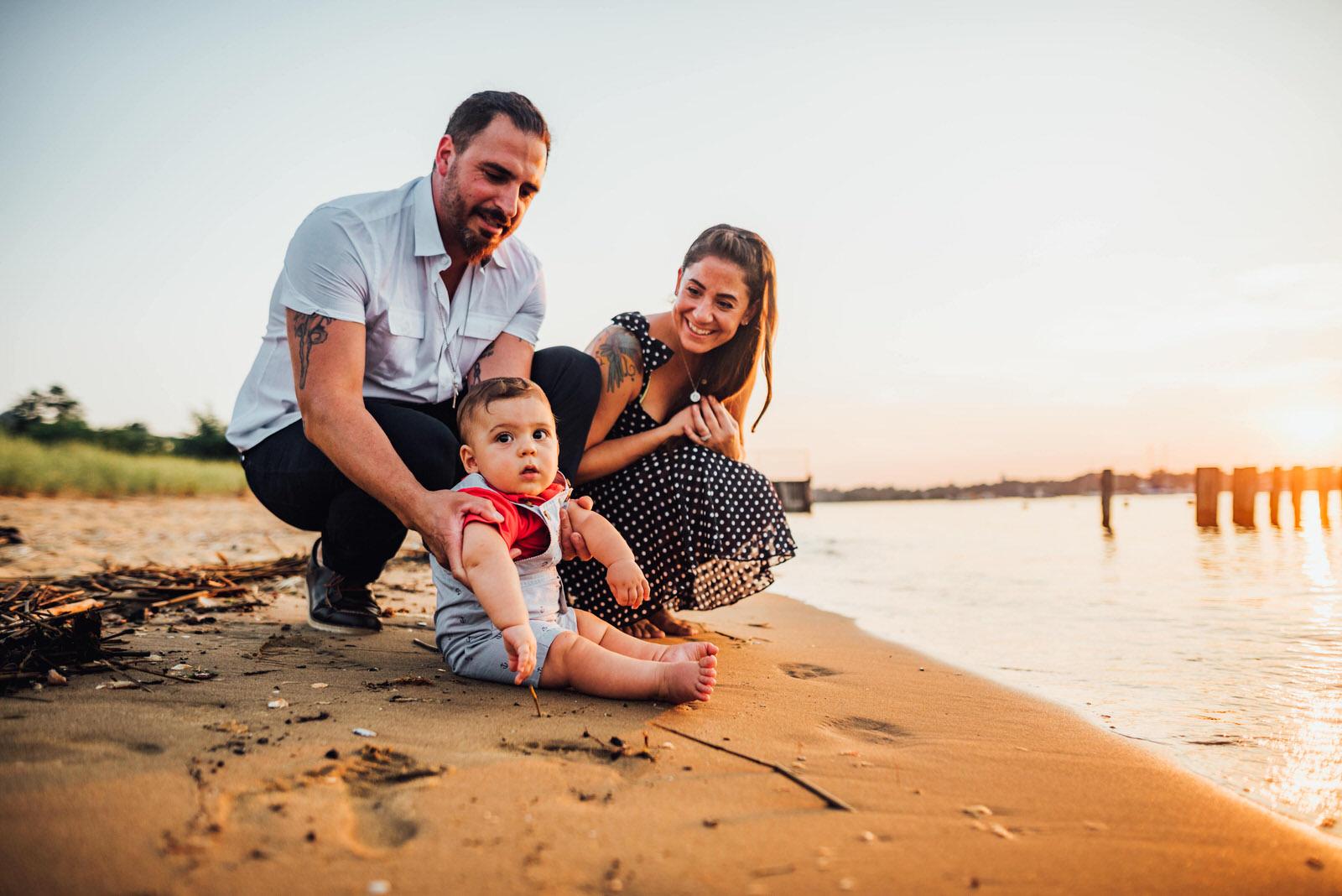 Beach family photo shoot ideas